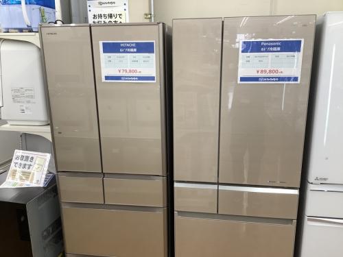 中古 冷蔵庫の高年式
