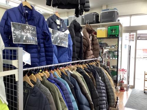 冬物洋服買取のダウンジャケット