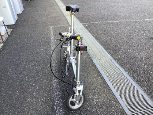 折りたたみ自転車のグリーンサイクルステーション