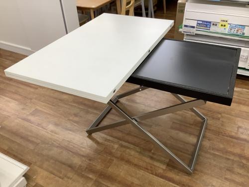 テーブルの昇降式