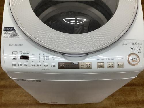 縦型洗濯乾燥機のSHARP(シャープ)