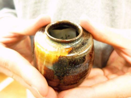 和食器の膳所焼
