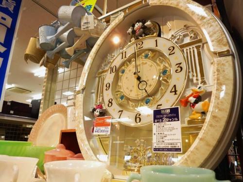 雑貨の電波時計