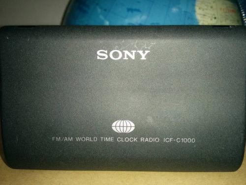 トラベルクロックのラジオ