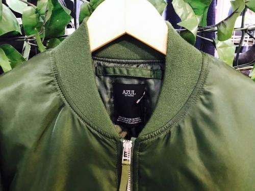 MA-1の中央林間衣類