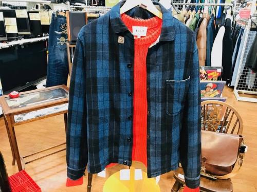 BEAMSのウールジャケット