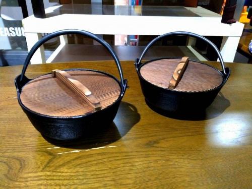 調理家電の鉄鍋