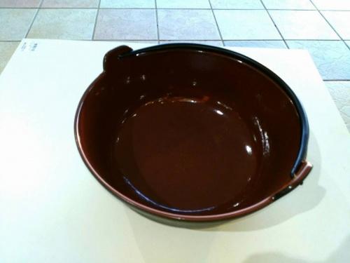 和食器の鉄鍋