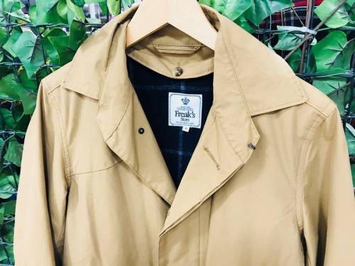 コートのライナー付コート