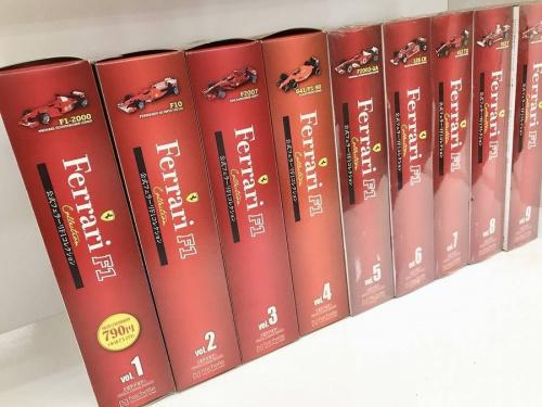 公式フェラーリF1コレクション 1-69巻の買取