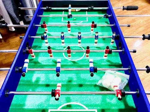 ボードゲームのサッカーゲーム盤