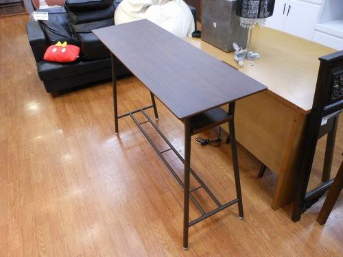 家具のカウンター