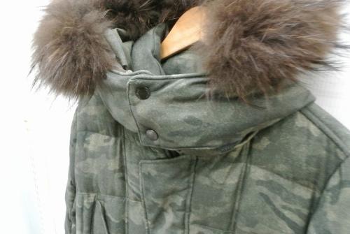コートのダウンコート