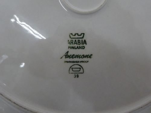 インテリア食器のARABIA アネモネ