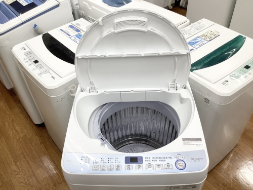 全自動洗濯機の大和市 中古家電