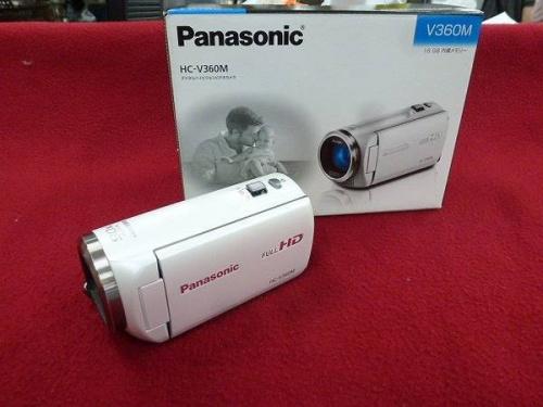 デジタル家電のハンディカメラ