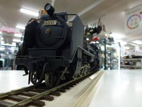 楽器・ホビー雑貨の蒸気機関車
