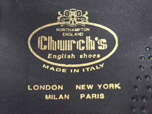 財布のChurch's