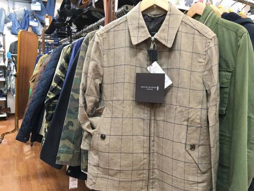 ジャケットの上板橋メンズファッション