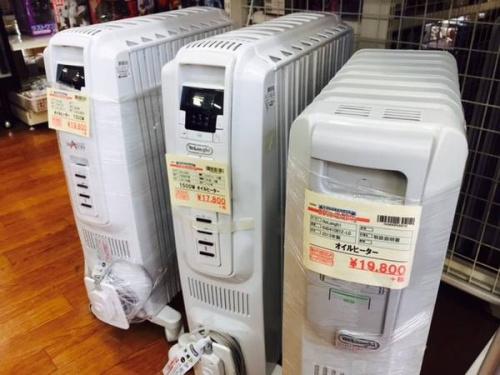 冬家電のヒーター