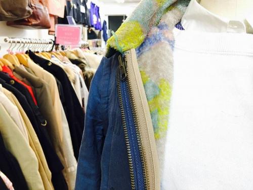 春物衣料のブルゾン