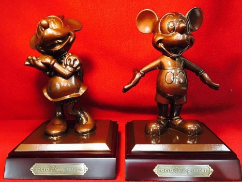 ブロンズのミッキーマウス
