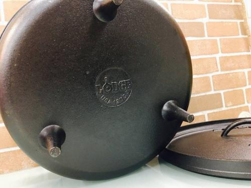 LODGEのダッチオーブン