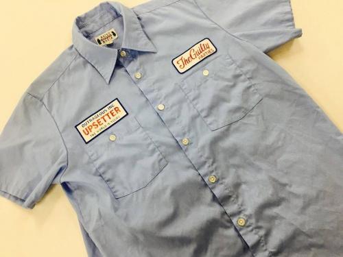 ワークシャツの上板橋メンズ