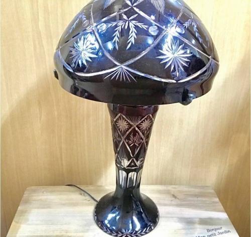 切子のランプ