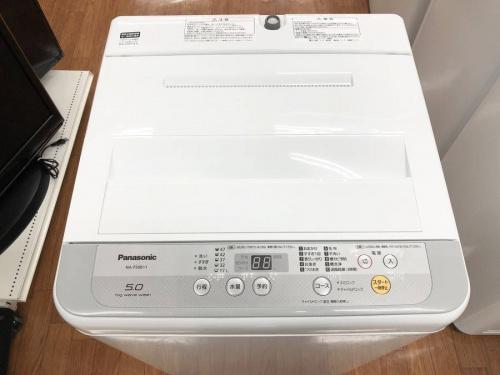 Panasonicの洗濯機 中古洗濯機