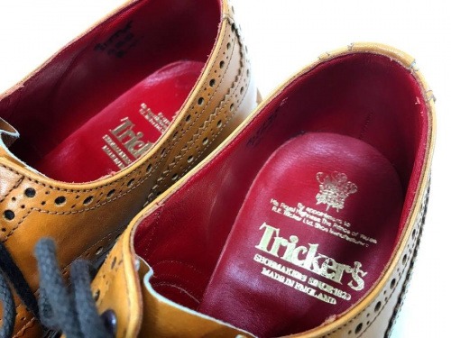 Trickersのシューズ