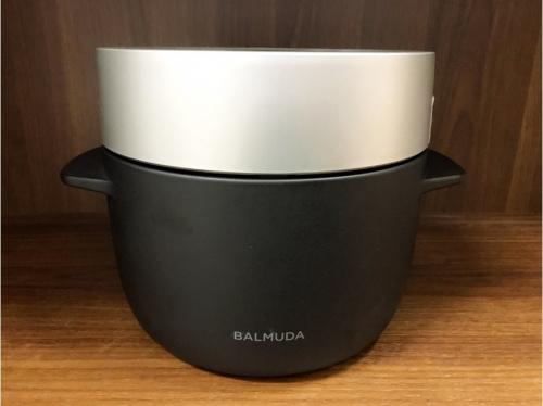 BALMUDAの炊飯器