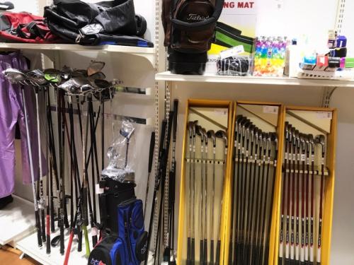 ゴルフのアウトドア用品