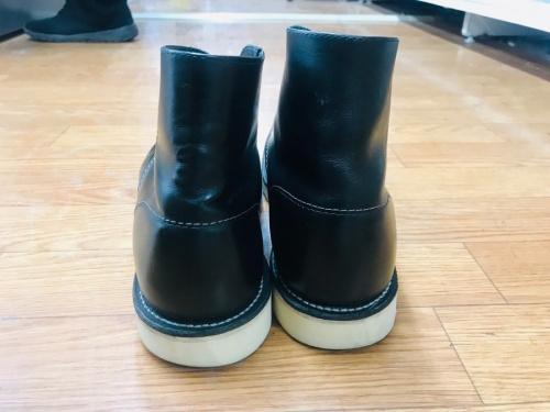 アイリッシュセッターのブーツ