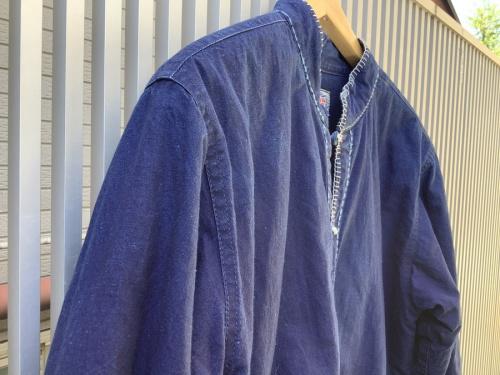 チャイナスタンドカラージャケットのGAIJIN MADE