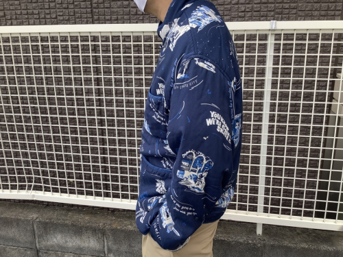 ジャケットのアロハチャイニーズジャケット