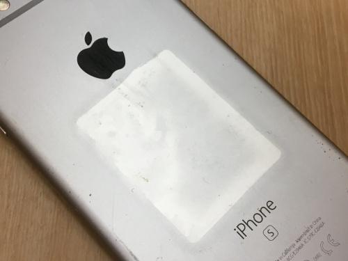 スマートフォンのiPhone6s