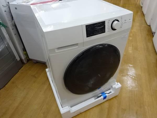 生活家電の洗濯機. 商品名:ドラム式洗濯機. メーカー:無印良品