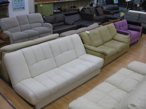 シューズボックスのソファー