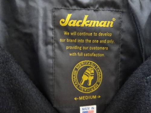 ジャケットのJackman
