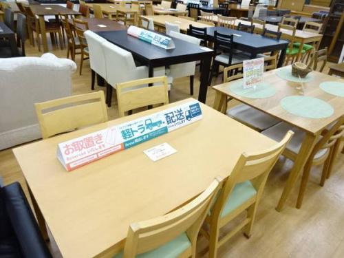 テーブルの関西