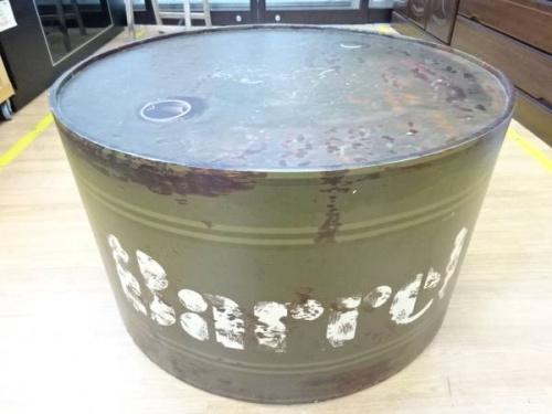 ドラム缶のヴィンテージ