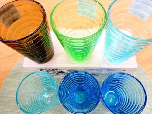 北欧食器のガラス