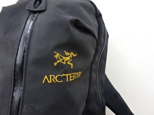 バックパックのarcteryx