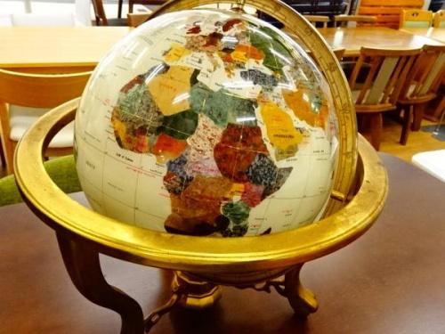 地球儀のアンティーク
