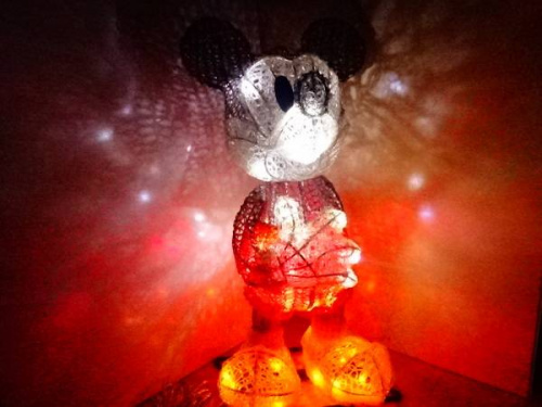 ミッキー・マウスのインテリア照明