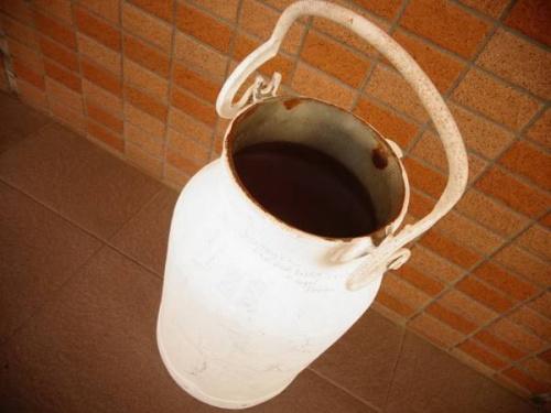 インテリア 中古 買取のミルク缶