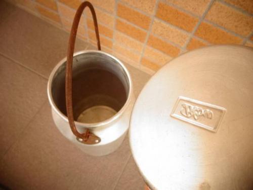 ミルク缶の神戸新長田