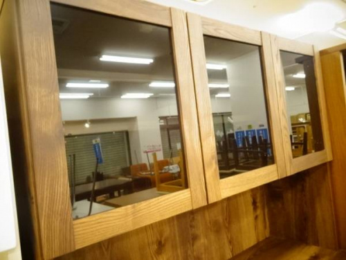 食器棚 レンジボードの関西