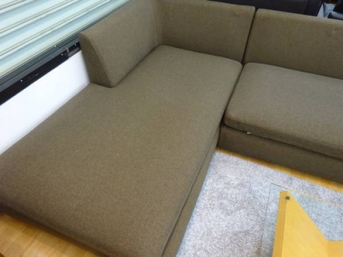 神戸 中古 家具 買取のコーナーソファー